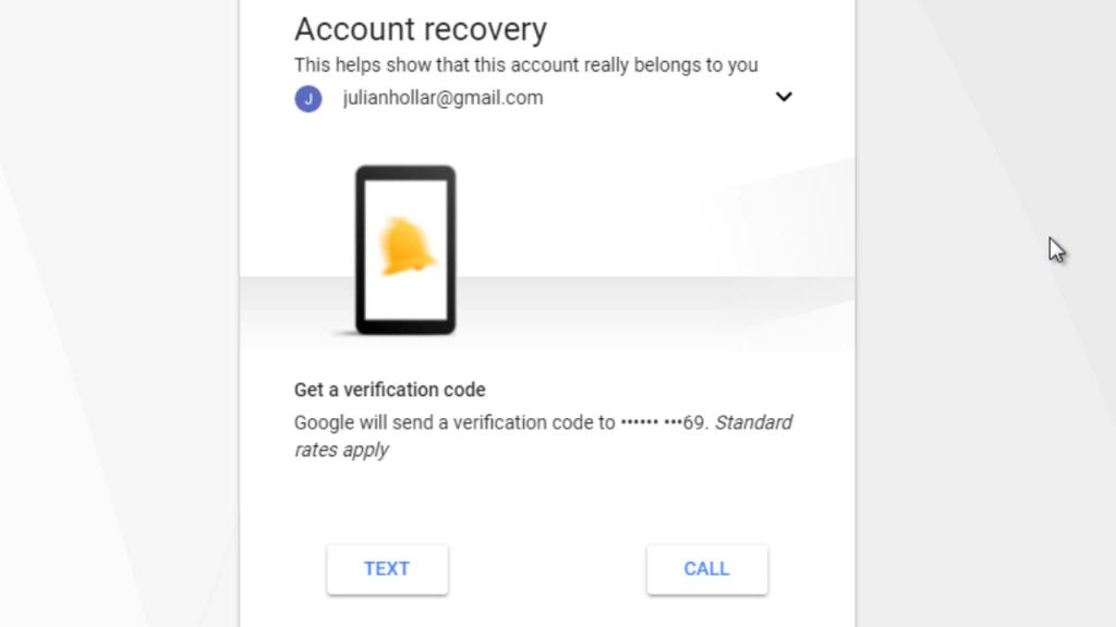 Gmail reset password using phone number | blog gsmart in