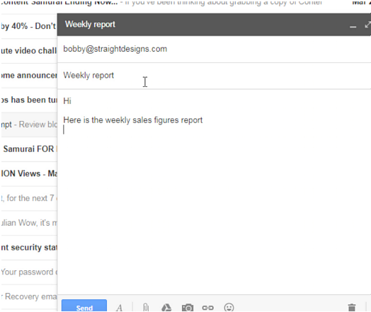 compose in gmail