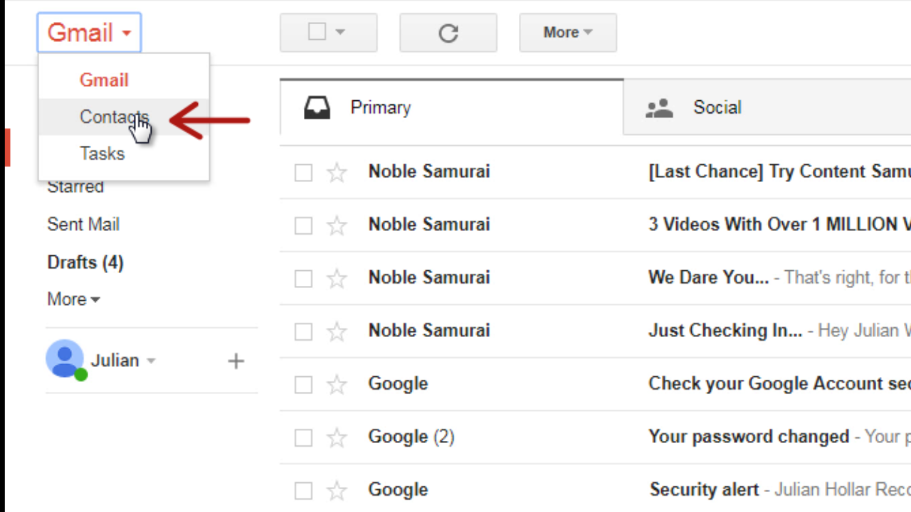 How to Export Gmail Contacts to an Excel Sheet   blog gsmart in