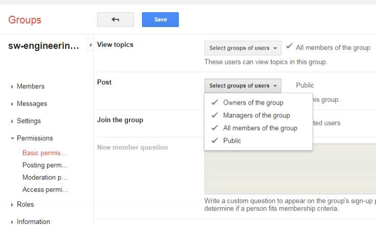 Gmail group email not working step 1
