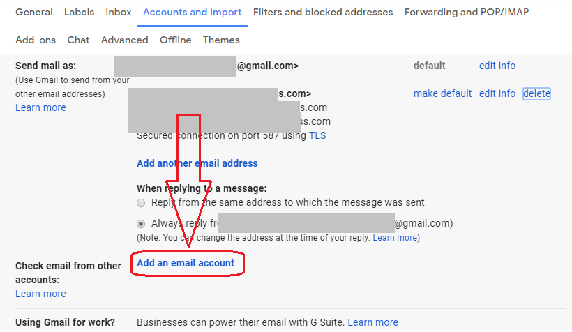 How to check multiple domain emails from single Gmail account | blog
