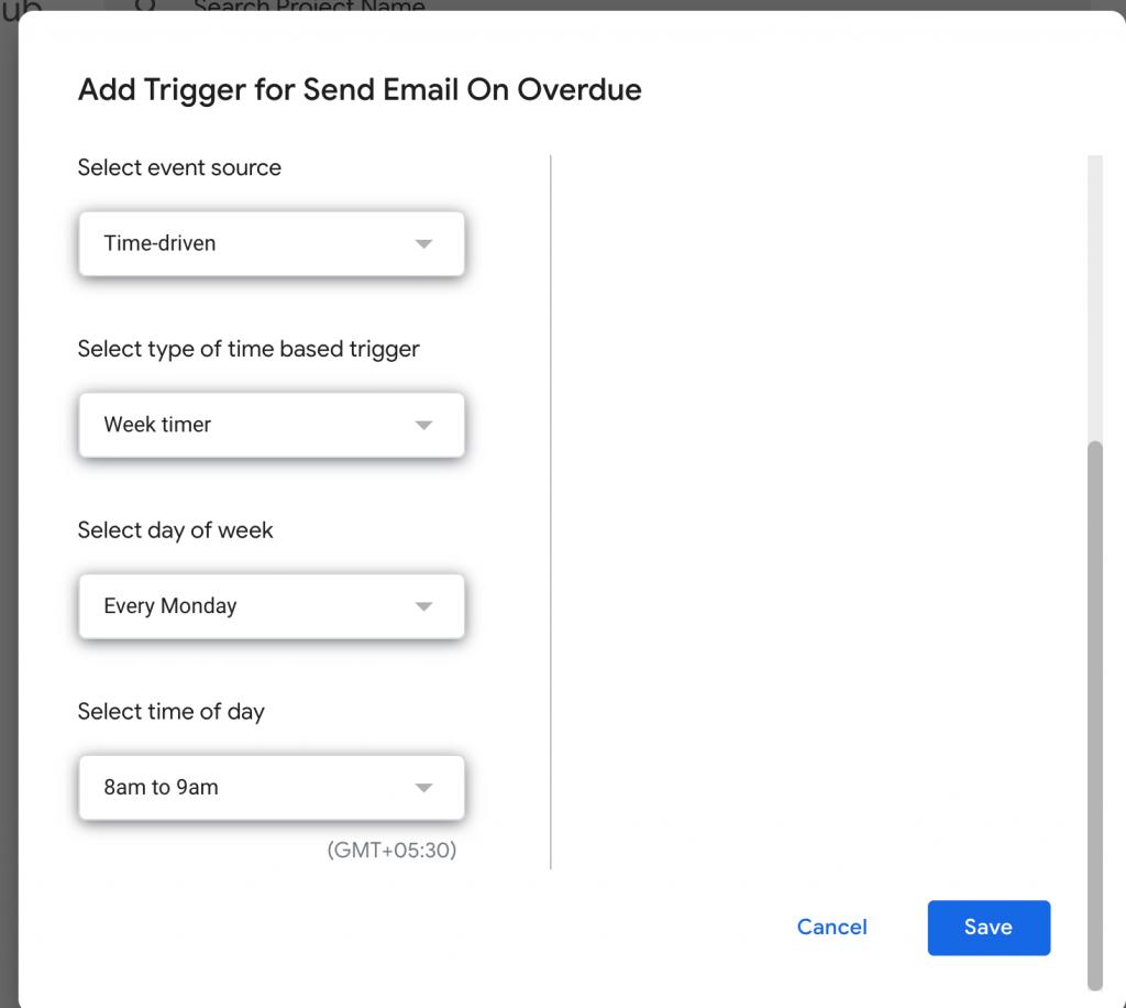 automating google sheet emails