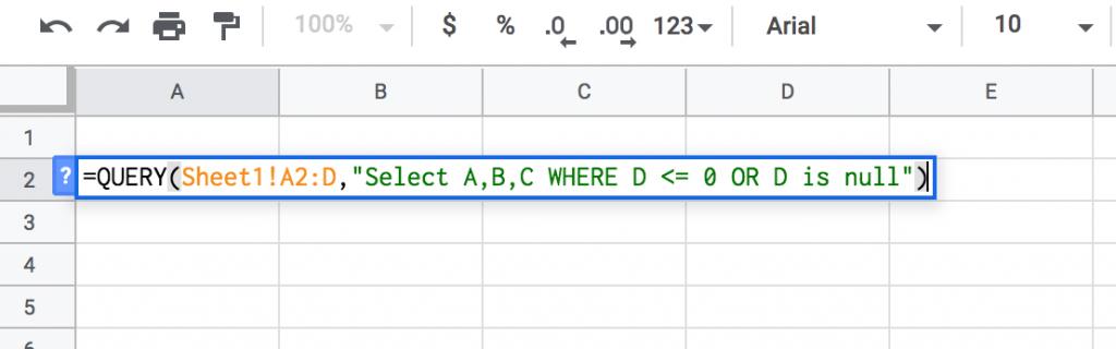 query to copy unique values